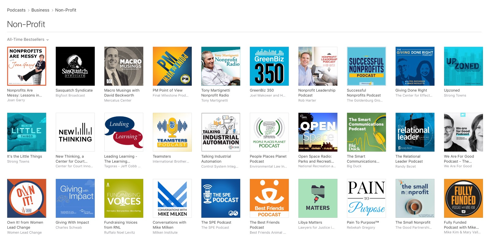 New & Noteworthy at Apple Podcasts with Platinum Podcasts